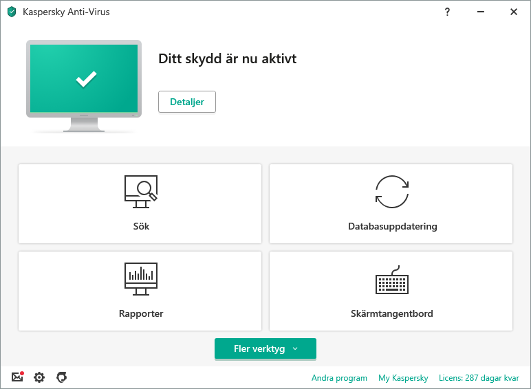 Kaspersky Anti-Virus content/sv-se/images/b2c/product-screenshot/1 FL19 Main UI (green state) KAV SE.png
