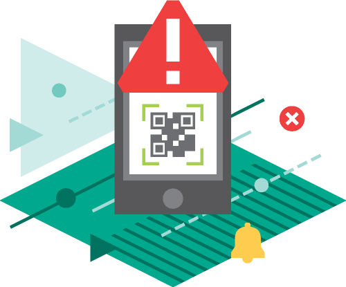 Stay safe when scanning QR-codes