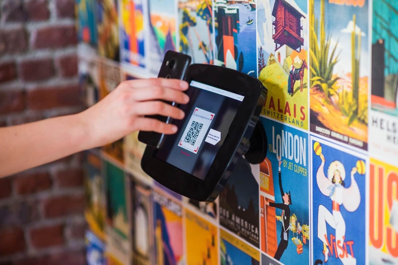 paying with QR codes