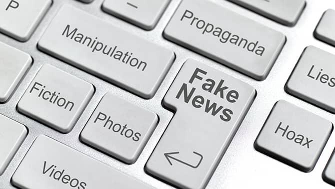 Exempel på falska nyheter