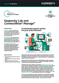 Integrering med ConnectWise Manage